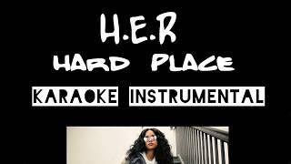 H.E.R   Hard Place   Instrumental Met Tekst