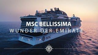MSC Bellissima: 1001e Nacht in den Emiraten