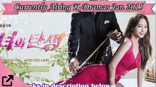Top 10 Currently Airing Korean Dramas January 2015
