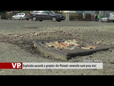 Explicația șocantă a gropilor din Ploiești