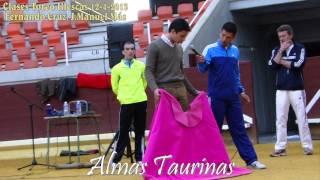 preview picture of video 'clases de toreo por Fernando Cruz y Jose Manuel Mas Illescas 12-4-2013'