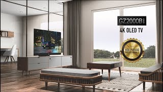 YouTube Video BsXWtXwaMZ0 for Product Panasonic HZ2000 OLED 4K TV by Company Panasonic Corporation in Industry Televisions