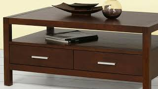 08 Living Room Center Table With Storage