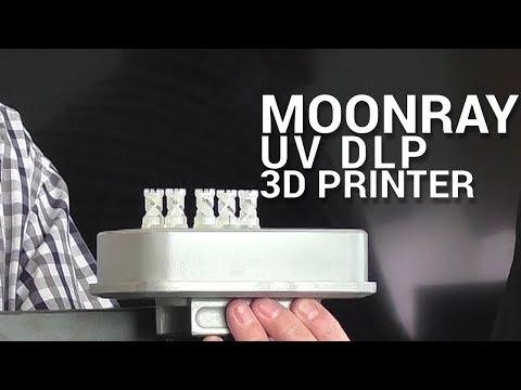 MoonRay DLP 3D Printer