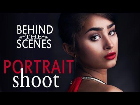 Glamour Portrait Photo Shoot: Model, Hair, Makeup, Styling, Lighting, Posing