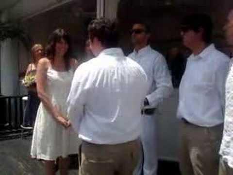 Tito Porrata Gets Married by Reverend Schaefer