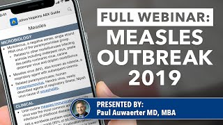 Measles Outbreak 2019: What You Need To Know