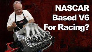 NASCAR Chevy SB2 V8 Turned Into a Racing V6!?