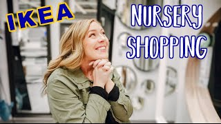 IKEA NURSERY SHOPPING | Baby Furniture And Decor