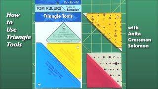Trim Half-Square Triangles So Much Faster with Anita Grossman Solomon