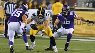 Vikings and Steelers back-to-back interceptions in Hall of Fame game