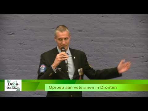 VIDEO   Oproep René de Graaf aan veteranen in gemeente Dronten