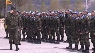 preview picture of video 'S.M. el Rey visitó al contingente español en el Líbano  - Base Miguel de Cervantes'