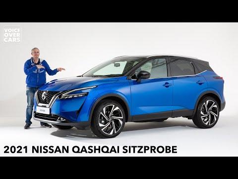 2021 Nissan Qashqai Sitzprobe Ersteindruck Meinung Kofferraum Kritik | Voice over Cars Review