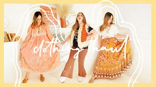 A 70s Boho Clothing Haul!