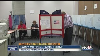 How to vote early in Indiana