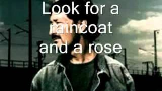 Chris Rea Raincoat and a Rose Lyrics.wmv