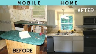 Mobile Home Before And After Pictures (double-wide Manufactured)
