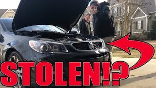Cops said I bought a STOLEN car!!! Here's the story...