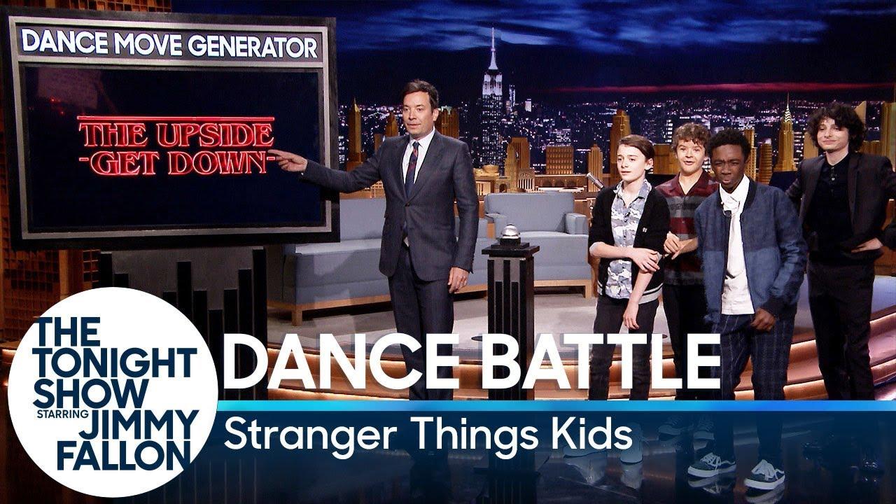 Dance Battle with the Stranger Things Kids thumbnail