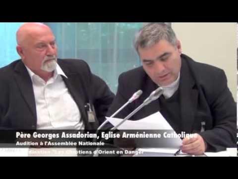 Audition des Chrétiens d'Orient en Danger à l'Assemblée Nationale > 4