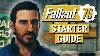 FALLOUT 76: Wasteland STARTER Guide!! (10 Tips For a Head Start in Fallout 76!)