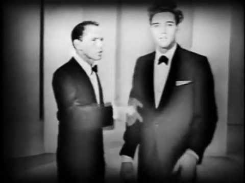 Awesome video of Sinatra and Elvis. Elvis looking like a dime piece.