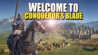 An Online Game With MASSIVE BATTLES (Conqueror's Blade) #Sponsored