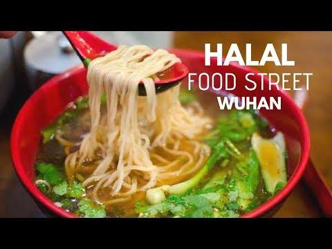 Kuliner Jalanan Halal di Wuhan China - Wuhan Food Street