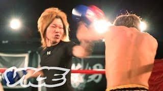現役ホストが殴り合い!格闘イベント『宴』 - The Crazy World of Host Fighting
