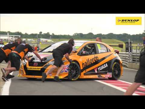 BTCC highlights of rounds 16, 17 & 18 from Snetterton in Norfolk