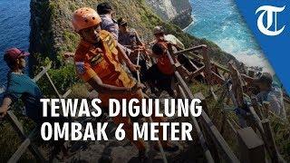 Diterjang Ombak Setinggi 6 Meter, Turis asal Vietnam Tewas di Pantai Klungkung Bali