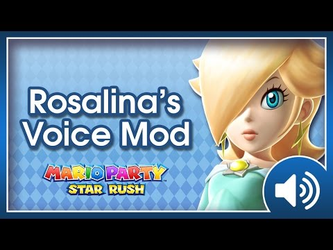 Mario Party SR - Rosalina's ORIGINAL voice mod (Mercedes