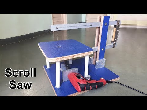 How to Make a Scroll Saw at Home