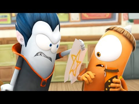 Funny Animated Cartoon | Spookiz Don't Cross Cula's White Line 스푸키즈 | Cartoon for Children