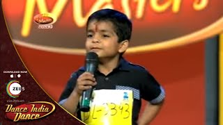 Akshay Maurya MOST FUNNY AUDITION Performance - DID L'il Masters Season 3