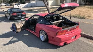 FULL SOUND SYSTEM FOR THE 240SX!!