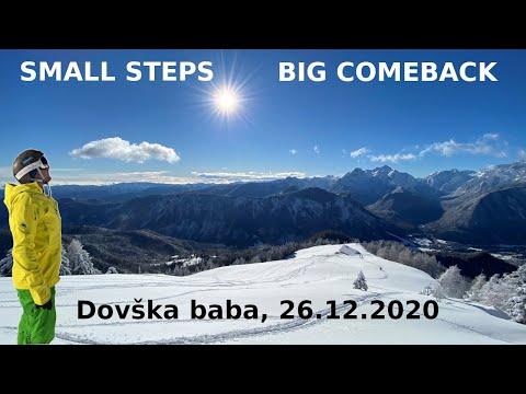 SMALL STEPS, BIG COMEBACK! - Dovška baba, 26.12.2020