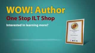 """Indecomm's """"WoW! Author""""  - Microsoft Word-based authoring environment for Instructor-Led Training."""