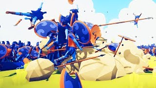 Defeating The Craziest Workshop Battles Ever in Totally Accurate Battle Simulator - TABS