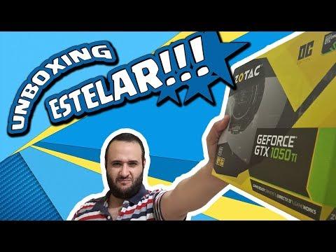 Tarjeta Gráfica ZOTAC nVidia GTX 1050 TI OC Edition - Unboxing y especificaciones en Español