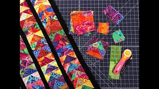 Replay: Fly Away With A Kaffe Fassett Fancy Flight Table Runner
