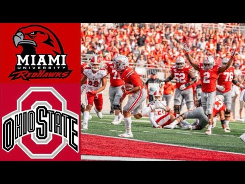 Miami (OH) vs #6 Ohio State Highlights | NCAAF Week 4 | College Football Highlights