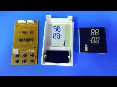 ремонт дисплея  холодильника  Samsung RL-34 SCSW