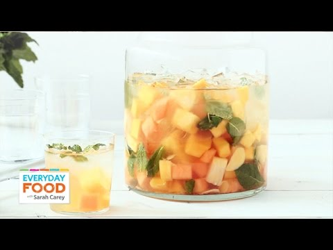 Video 3 Refreshing Summer Drink Recipes - Everyday Food with Sarah Carey