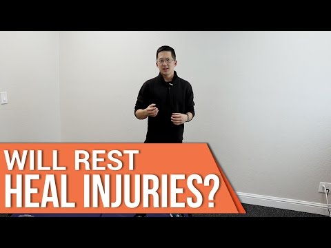 Video Will rest heal a groin pull or other injuries?