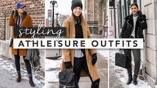 How to Wear Athleisure in the Winter Time | by Erin Elizabeth