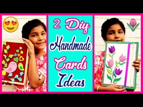 2 Easy Handmade Greeting Cards For Mother Day ♥️🎴🤶for kids( Aishmin Diy) 2019