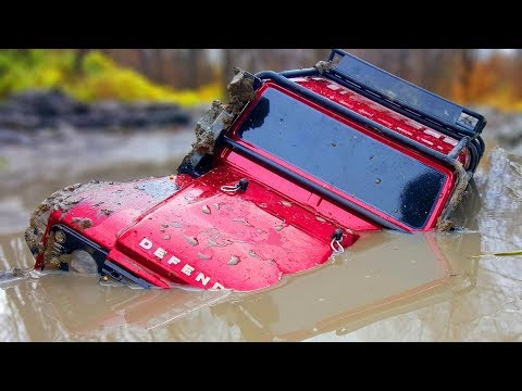 RC Cars Can Swim? Water Test Traxxas TRX4, Axial SCX10 II Jeep, HPI Venture — Wilimovich