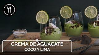 Receta de CREMA DE AGUACATE, COCO Y LIMA | Instafood